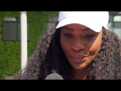 Serena Williams interviews for the job of Wimbledon Champion