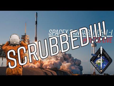 LIVE Hosting SpaceX Bangabandhu-1 (SCRUB) (First Block 5 of Falcon 9!!!)