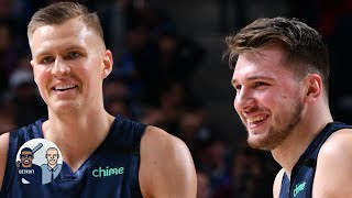 Luka Doncic is 'getting real Porzingis' to help the Mavericks ascend - Jalen Rose | Jalen & Jacoby