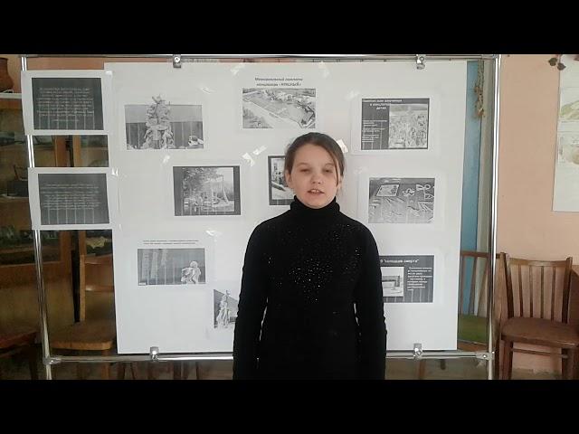 Изображение предпросмотра прочтения – ЯнаШведова читает произведение «Черное дуло блокадной ночи...» Н.Радченко