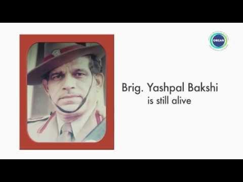 Brigadier Yash Pal Bakshi - An Organ Donor