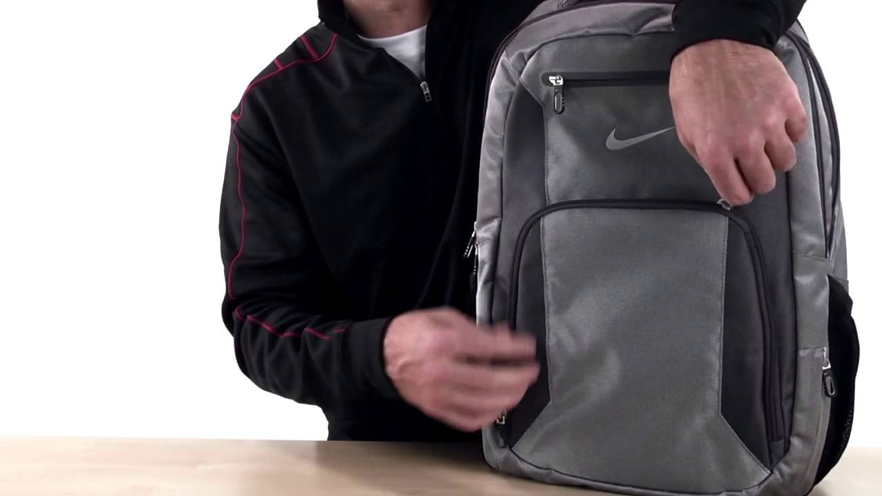 79e2a4f4813 Nike Golf TG0242 Elite Backpack - YouTube