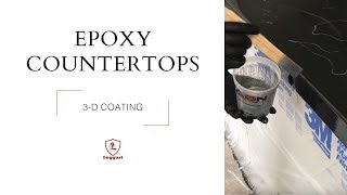 3-D Countertop Epoxy Coating