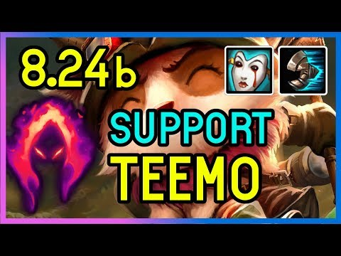 8.24b SUPPORT TEEMO DARK HARVEST  - DIAMOND - League of Legends thumbnail