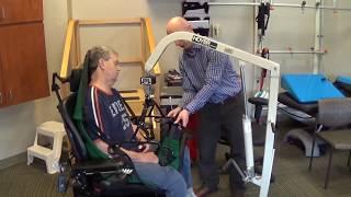 Hasta Taşıma Kaldırma Lifti ile Tekerlekli Sandalyeden Yatağa Hasta Transferi 1
