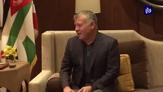 جلالة الملك يستقبل وزراء خارجية الكويت والإمارات والبحرين ومصر والسعودية - (30-1-2019)
