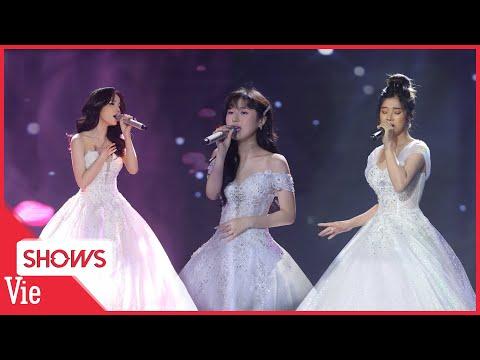Hoàng Yến Chibi, Han SaRa, LyLy cùng hòa giọng cực hay với ca khúc 24H | SÓNG VIEON