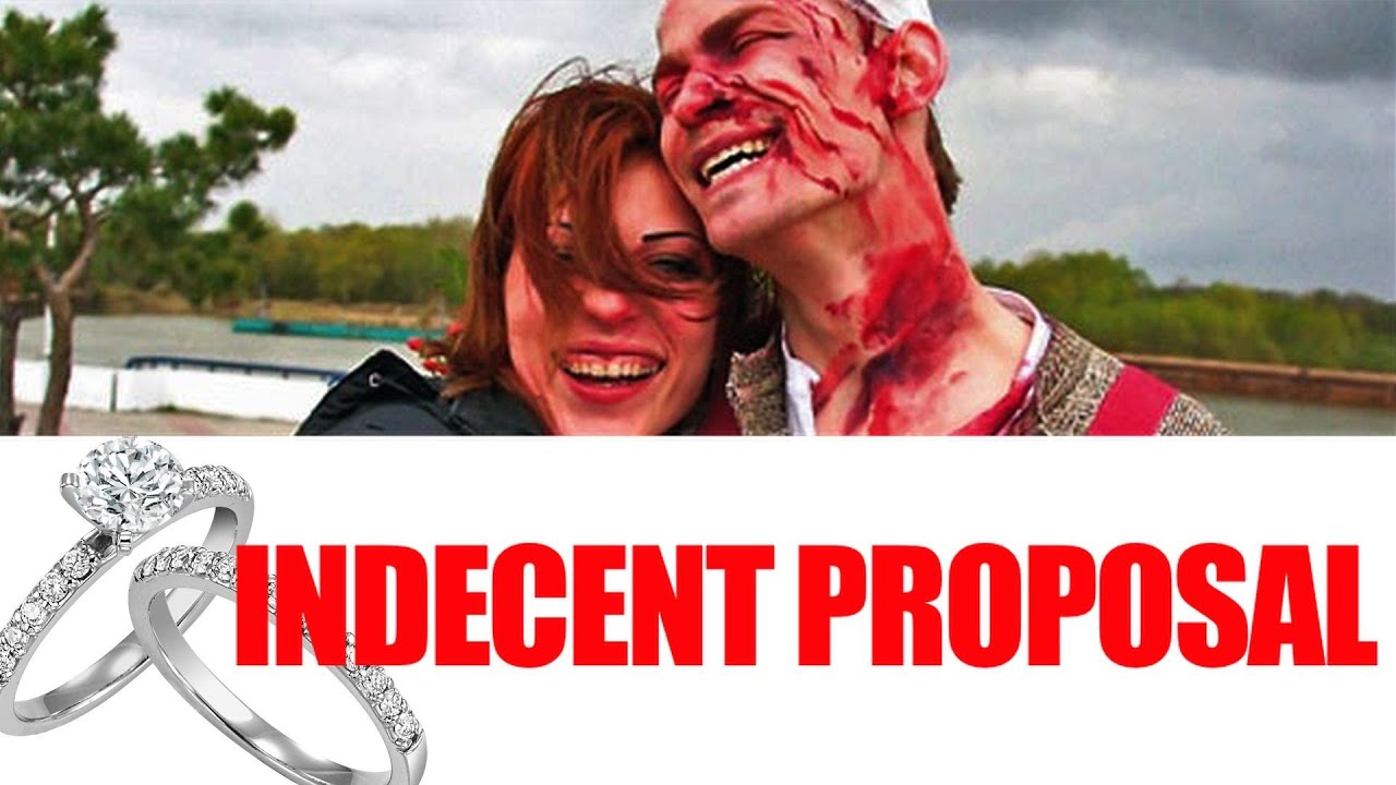 Man fakes his own death marriage proposal video