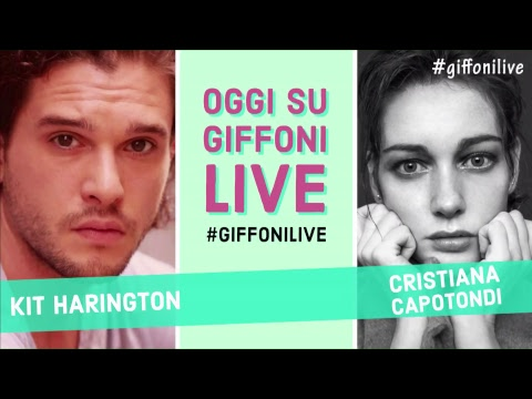 Kit Harington live @ Giffoni Film Festival