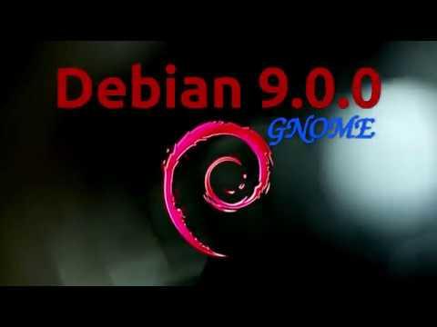 Debian 9.0.0 Gnome