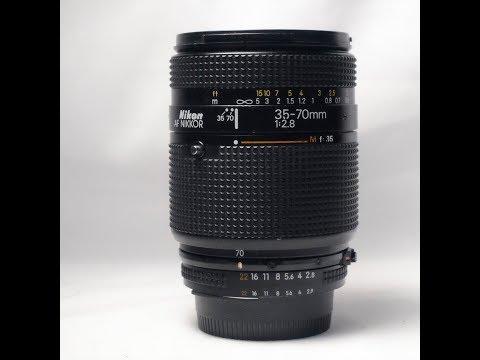 Nikkor AF 35-70mm f/2.8 (Non-D Version, 1987-1992)