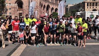 Ֆրանսահայ լեռնագանցը, վազքով կտրելով 5000 կմ ճանապարհ, խաղաղության կոչով հասավ Երևան