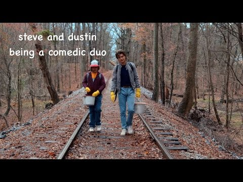 steve & dustin being a comedic duo