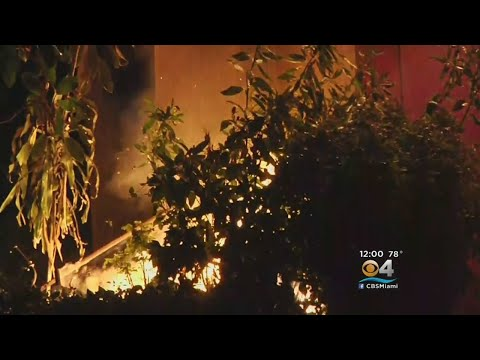 Christmas Fire Severely Damages Miami Gardens Home