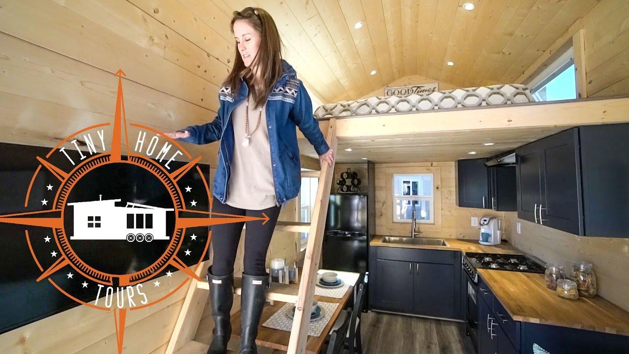 Gorgeous Double Loft Tiny House Full Tour Uncharted