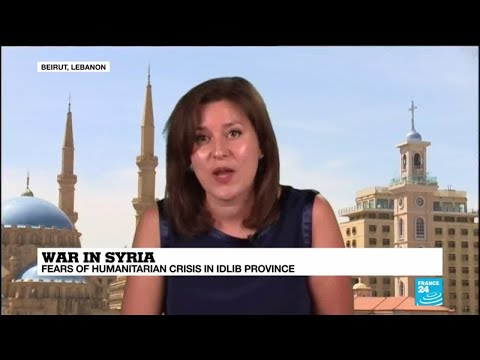 Syria: Merkel, Trump call for international action in Idlib