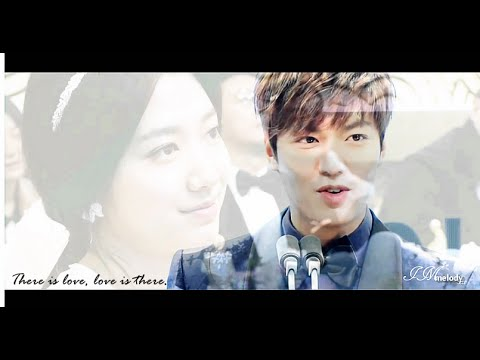 Lee Min Ho & Park Shin Hye - There is love