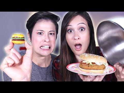 LIPPENBALSEM vs REAL FOOD CHALLENGE  MeisjeDjamila