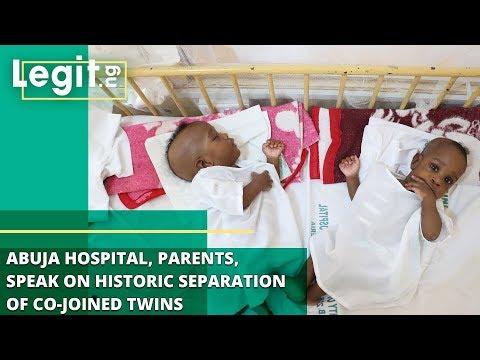 Nigeria News: Abuja Hospital, Parents, Speak on Historic Separation of Co-joined Twins | Legit TV
