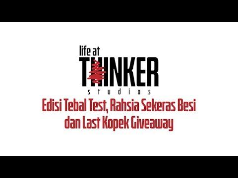 Life At Thinker: Edisi Tebal Test, Rahsia Sekeras Besi dan Last Kopek Giveaway
