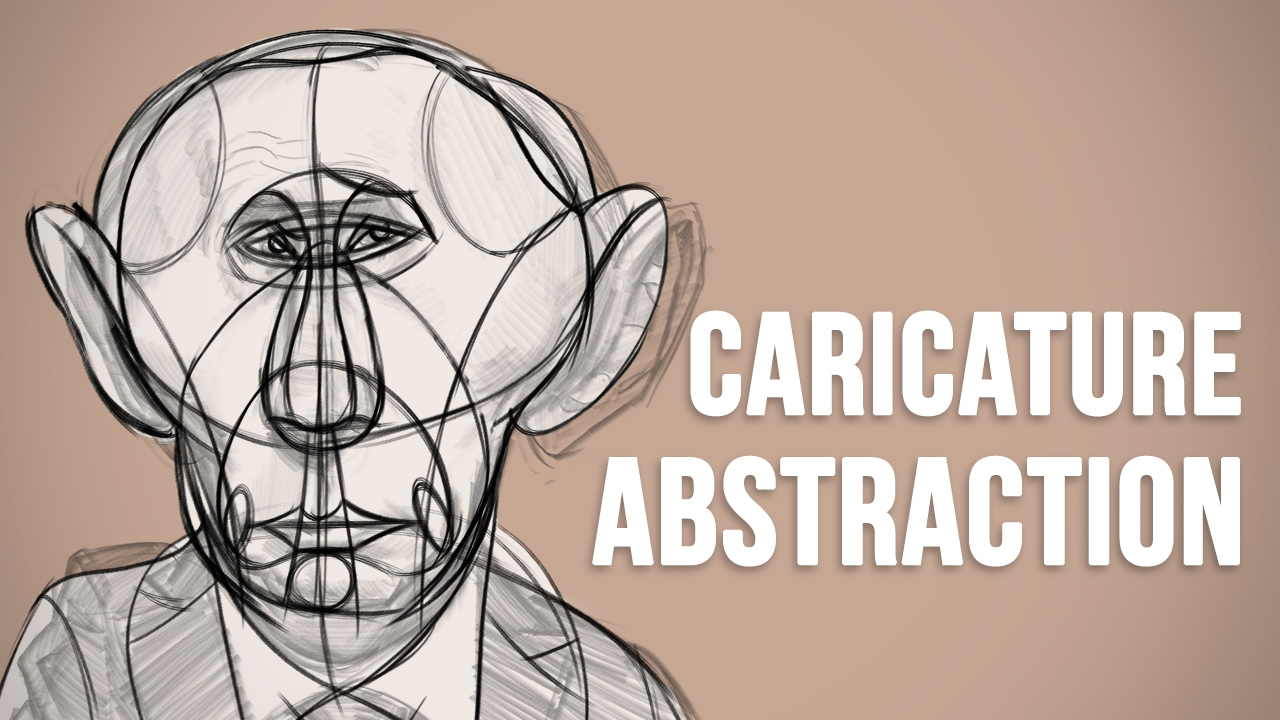 The Abstraction - Reilly Method for Caricature Drawing
