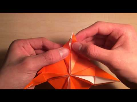 How to make Beyblade from origami Tutorial
