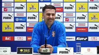 Mladen Krstajić i Aleksandar Kolarov Pred Mečeve sa Nemačkom i Portugalom   SPORT KLUB Fudbal
