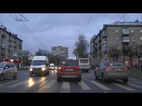 Обучаемся езде в Иванове, проспект Ленина