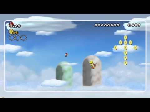 Let's Play New Super Mario Bros. Wii - Part#20 - Bonus Part (mit Vogel) [German / 100%]