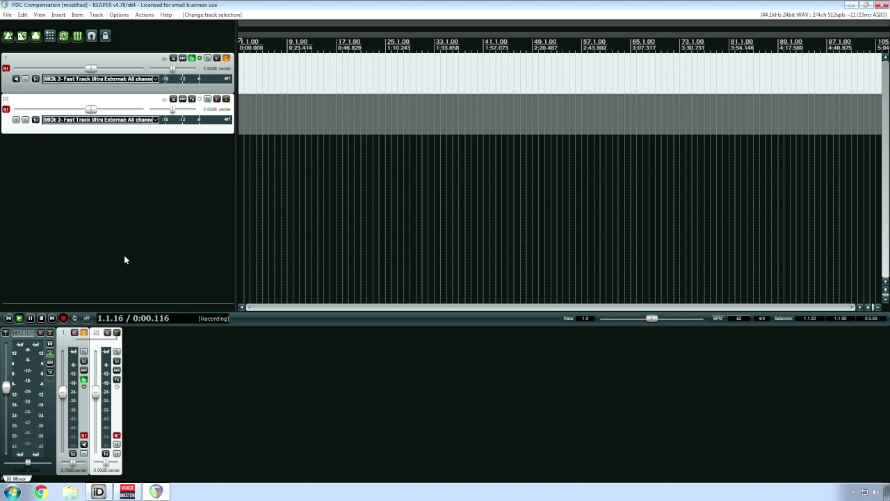 VERY Important REAPER MIDI & Guitar Amp Modeling Recording Setting