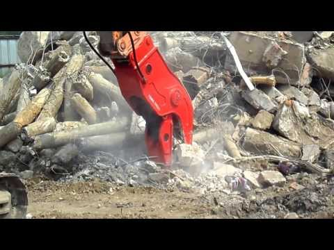 Hydraulic Pulverizer(Crusher) for
