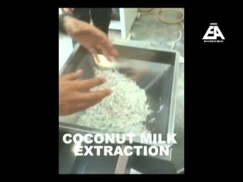 COCONUT PROCESSING LINE FOR COCONUT MILK (SANTAN) - www.euroasia.my