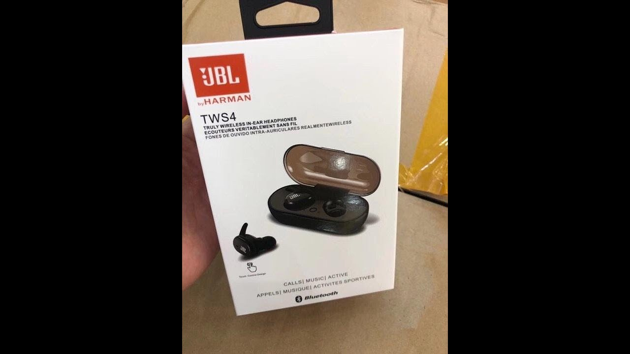 Jbl Truly Wireless In Ear Headphones Tws4 Unboxing Review How To Pair Youtube