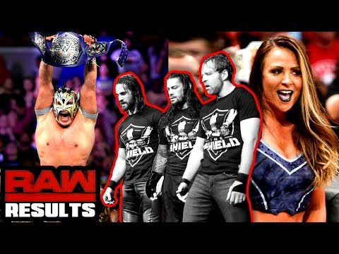 SHIELD TLC MATCH MADE! WWE Raw 10/9/17 Review- Going in Raw Pro Wrestling Podcast 298