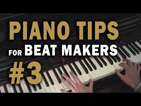 The 145 Chord Progression  Easy Piano Chords  Piano Tips for Beat Makers #3