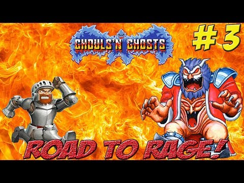 Road to Rage! Max & Matt vs Ghouls & Ghosts Part 3 - YoVideogames