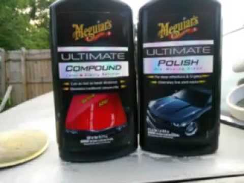 meguiar 39 s ultimate compound and polish can do paint. Black Bedroom Furniture Sets. Home Design Ideas