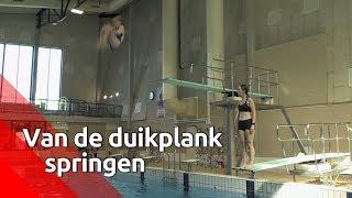 Nikki (13) is Nederlands Kampioen Schoonspringen