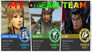 12K INGOTS FOR  A CHANCE OF MY DREAM TEAM| Dynasty Warriors Unleashed Summoning Video