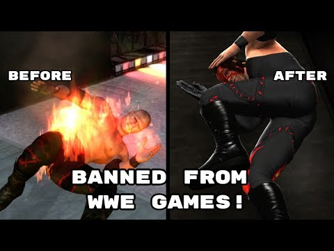 Thumbnail: 5 Features Banned From WWE Games
