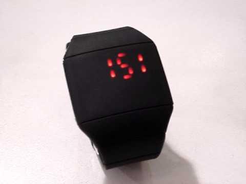 Pulsera Digital Touch Led Slim Reloj hQCsBrtdx