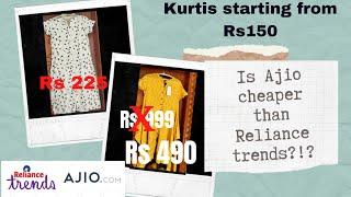 Is ajio.com cheaper than Reliance trends ?!   Ajio offers   Trends screenshot 3