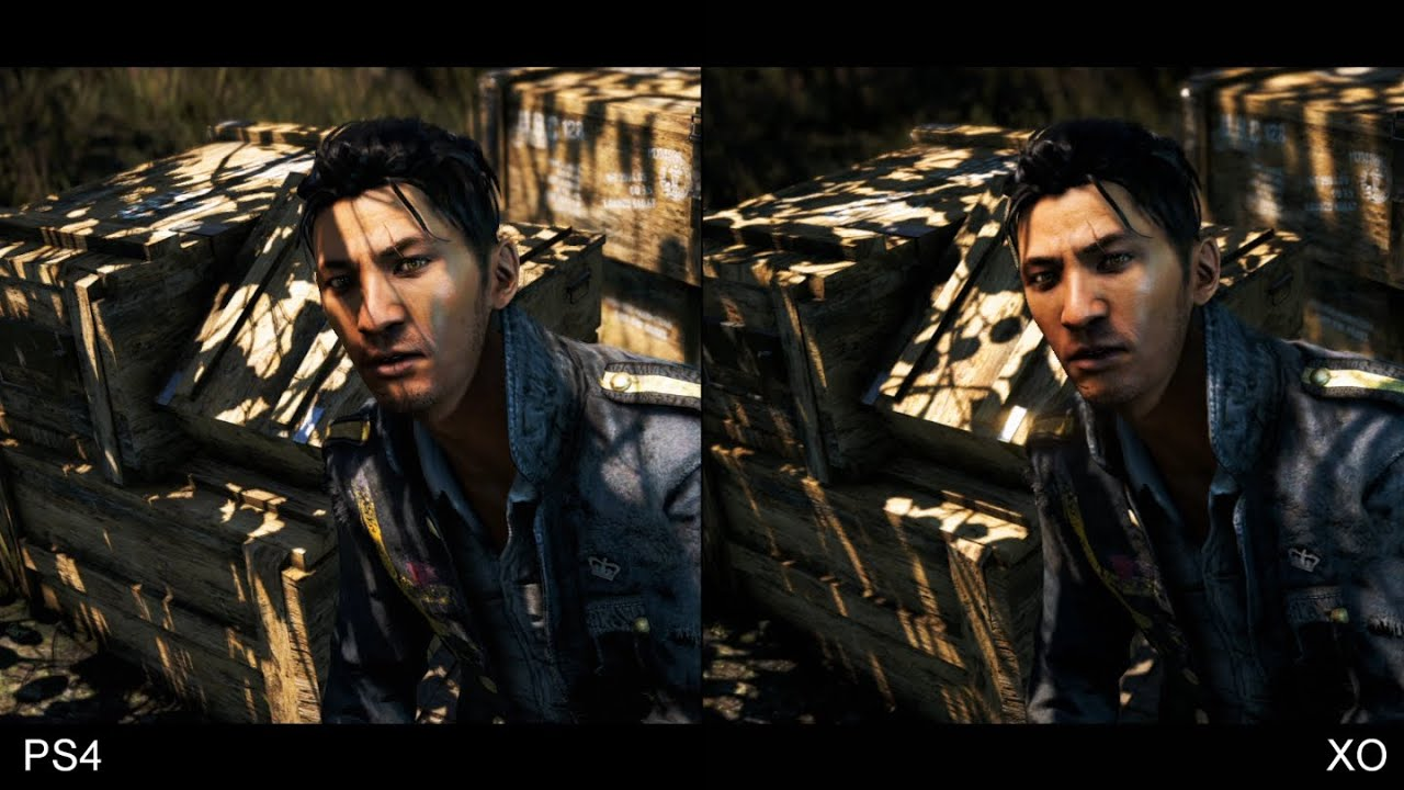 Far Cry 4 Ps4 Vs Xbox One Comparison Youtube