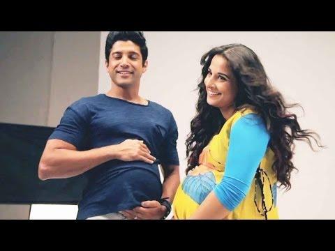 Is Farhan Akhtar pregnant with Vidya Balan's baby
