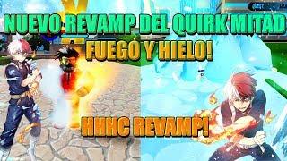 NUEVO REVAMP DEL QUIRK LEGENDARIO MITAD FUEGO Y MITAD HIELO CON NUEVO MOVIMIENTO! - BOKU NO ROBLOX
