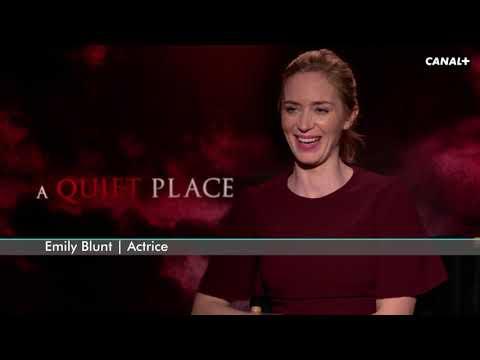 Emily Blunt sans un bruit... - Reportage cinéma