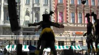"""""""Zvido Zvevanhu"""" Dance Ensemble,Harare,Zimbabwe:The Mbende Jerusarema Dance"""