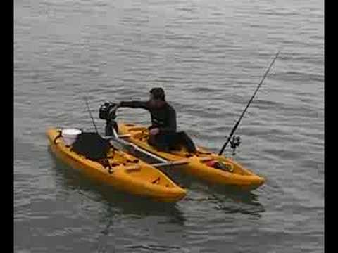 Motorised Kayaks From Switchsports In New Zealand Youtube