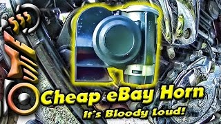 eBay Motorcycle Compact Air Horn 🌟 | #84 Hyosung GV650 | Sydney | outie555