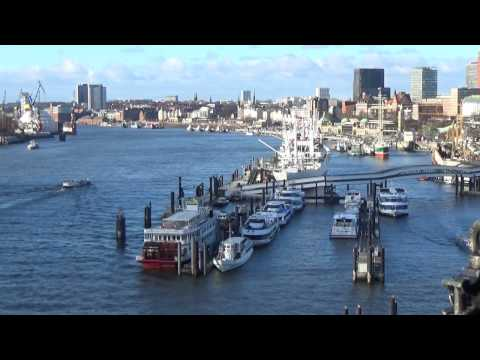 Seaport - 1080p HD Relaxing SLEEP Meditation AMBIENT SOUND Sea-City SCREENSAVER Study NO LOOP